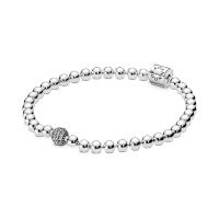 Beads & Pavé Bracelet Image