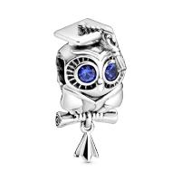 Wise Owl Graduation Charm Image